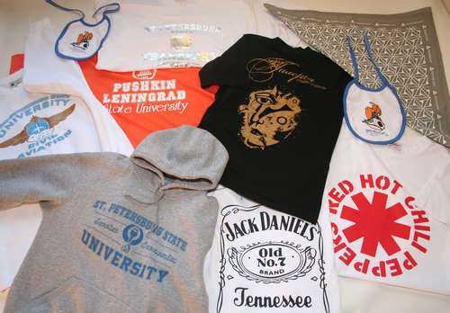 Печать изображений на футболках как бизнес.