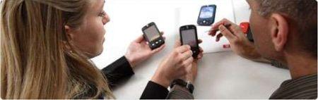 Обучение пользованию мобильными телефонами