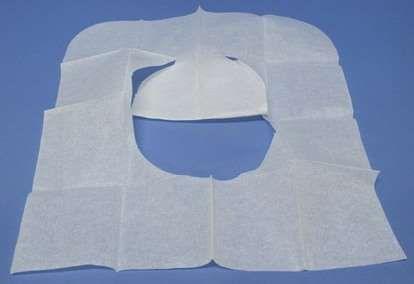 Покрытия на унитаз, одноразовые салфетки для унитаза.