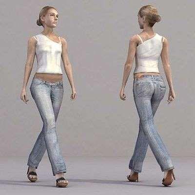 Бизнес идея: модели людей 3d, создание модели людей 3d.
