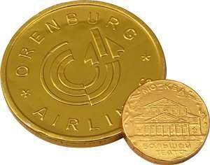 Бизнес идея: медали из шоколада.
