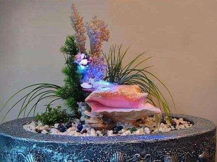 Декоративные фонтаны для дома, комнатный фонтан своими руками.