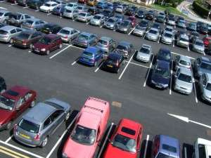 Поиск свободных мест на автопарковках