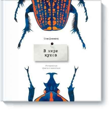 """Купить Стив Дженкинс Книга """"В мире жуков. Удивительные факты о животных"""" (от 4 лет)"""