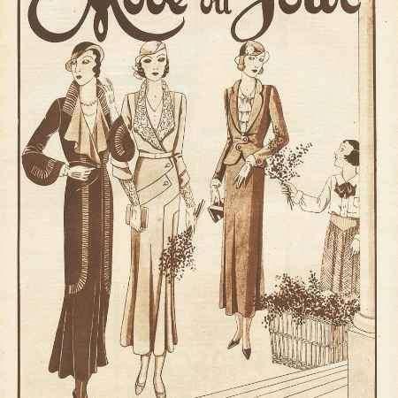 Купить La mode du jour, №569, mars 1932
