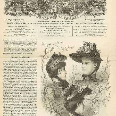 Купить La mode illustree, №13, mars 1890