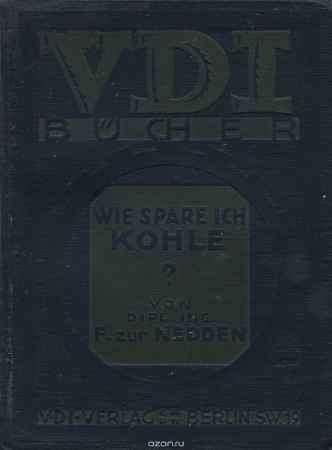 Купить F. Nedden Wie Spare Ich Kohle?