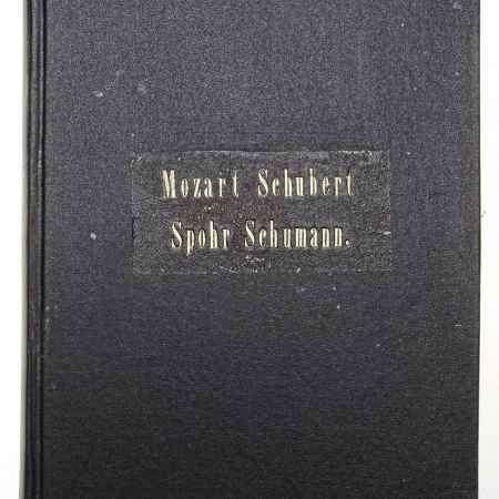 Купить В. А. Моцарт. Квартет №3 (B-Dur) для 2 скрипок, альта и виолончели. Ф. Шуберт. Гранд-квартет. Л. Шпор. Двойной квартет. Р. Шуман. Симфония № IV (конволют)