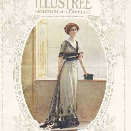 Купить La mode illustree, №12, mars 1912