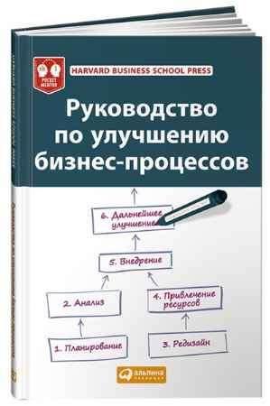 """Купить Harvard Business School Press Книга """"Руководство по улучшению бизнес-процессов"""" (интегральный переплет)"""