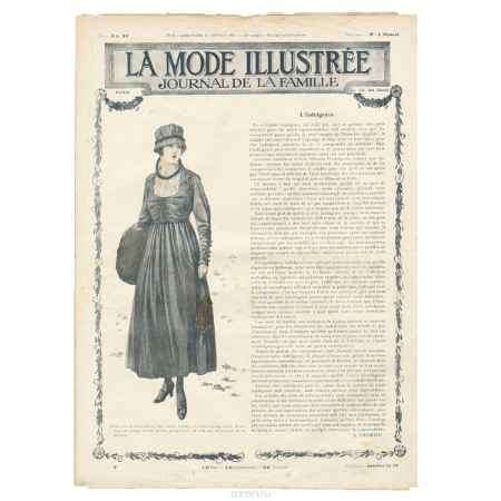 Купить La mode illustree, №3, 1917
