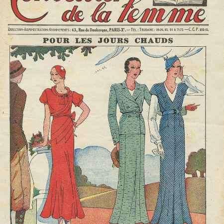 Купить La conseiiller de la femme, №36, juillet 1932