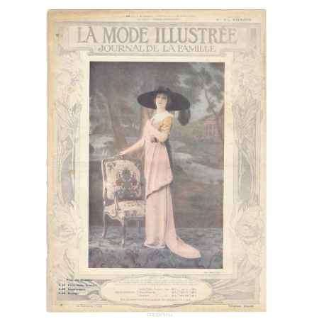 Купить La mode illustree, №48, 1912