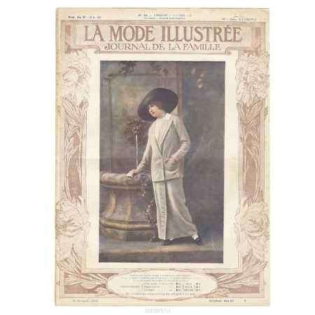Купить La Mode Illustree, №40, октябрь 1912