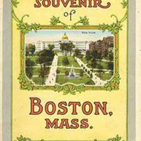 Купить Souvenir of Boston, Mass