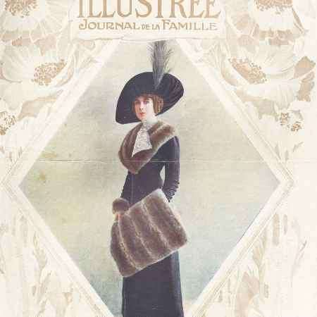 Купить La mode illustree, №6, fevrier 1912