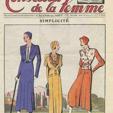 Купить Le conseiiller de la femme, №41, aout 1932