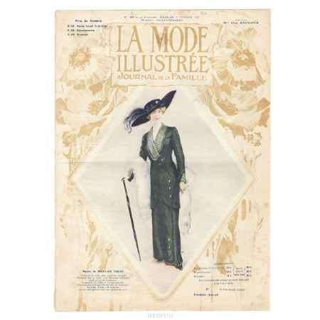 Купить La mode Illustree, №43, 1912