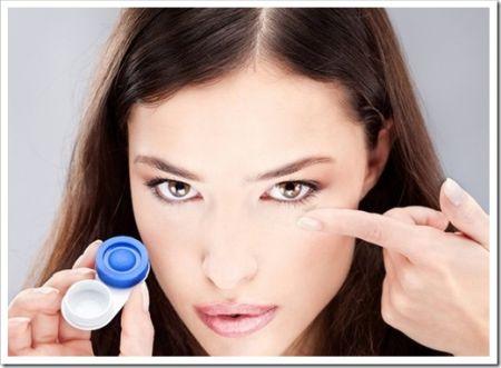 Правильный уход и хранение контактных линз