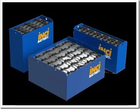 Использование аккумуляторов для погрузочной техники