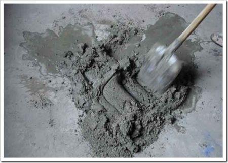 Компоненты, из которых замешивается любая цементная смесь
