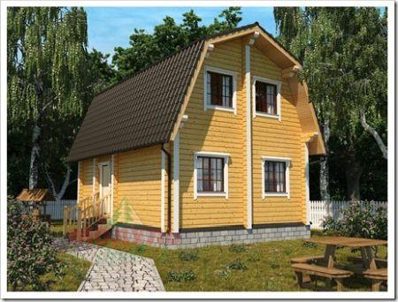 Строительство и продажа домов из бруса