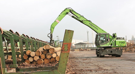 Что такое перегружатель леса