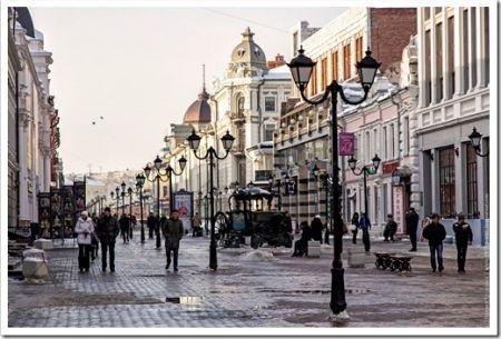 Пешие прогулки: казанский арбат