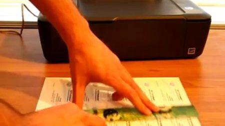 печать визиток на принтере