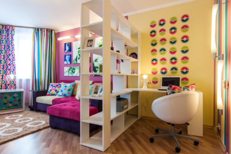 Как разделить гостиную на зоны