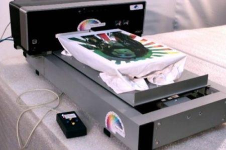 Как печатают принты на футболках