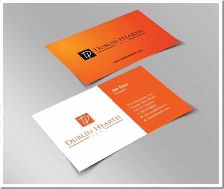 Наиболее привлекательная бумага для визитных карточек
