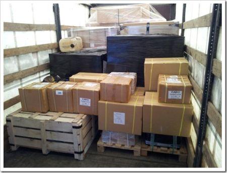 Оплата за вес и габарит доставляемых грузов