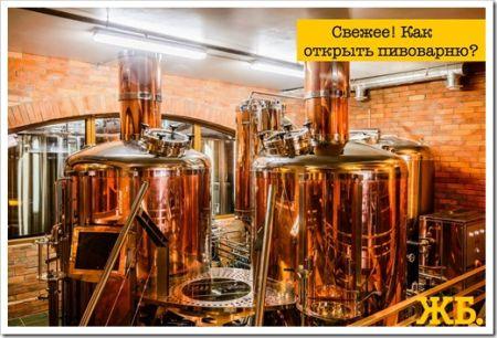 Как открыть мини-пивоварню