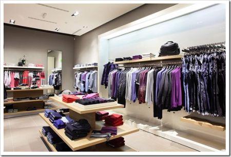 Зонирование и оборудование магазина одежды
